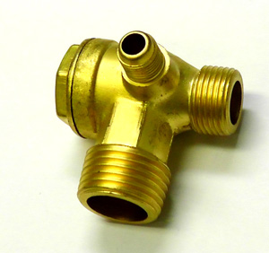 Central Pneumatic air compressor check valve