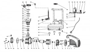 Central Pneumatic parts diagram