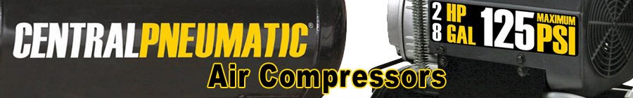 Central Pneumatic Air Compressors
